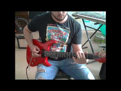 darkest hour symphony x symphony x in my darkest hour guitar cover youtube