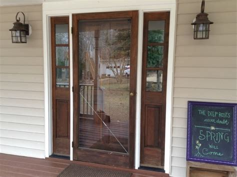 How To Stain Front Door Paint Or Re Stain Exterior Front Door