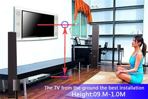 bedroom tv wall mount height tv mounting height bedroom bedroom review design