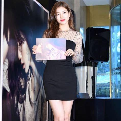 Korean Style Flat Boot N 319 Hitam inspirasi ootd a la cewek korea dari bae suzy