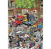 Jan Van Haasteren Puzzels Alle Naar Afbeelding Traffic Chaos