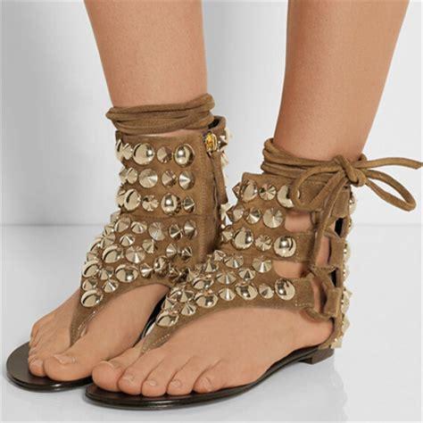 womens sandals 2015 rivets ankle sandals 2015 flip flops