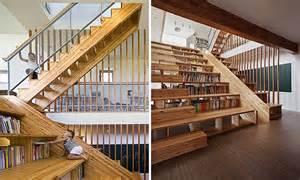 ein haus mit toller bibliothek rutschen kino treppe klonblog