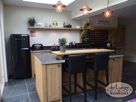 Houten Keuken Landelijk by Landelijke Eiken Houten Keuken De Lange Keukens