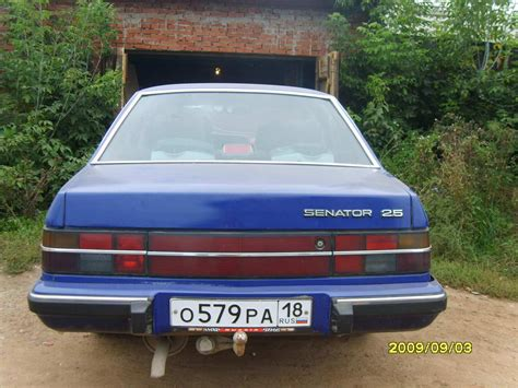 opel senator 1985 1985 opel senator for sale 2500cc gasoline fr or rr