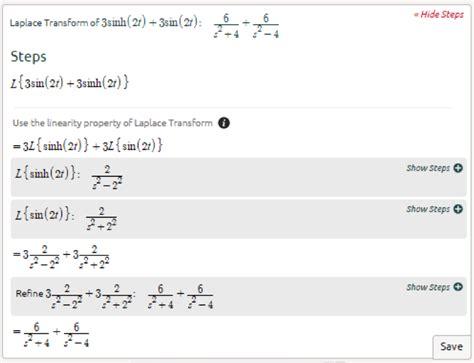 Symbolab Advanced Math Solutions Laplace