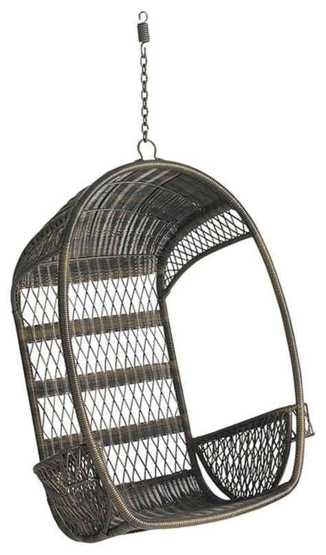 swingasan 174 mocha hanging chair pier 1 imports swingasan chair mocha eclectic living room chairs