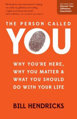 why is it called matter the person called you why you re here why you matter