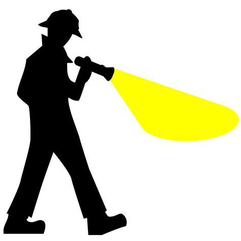 Detective Search Clipart Detective Silhouette