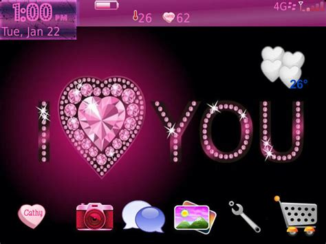 love pink themes premium pink love theme blackberry forums at