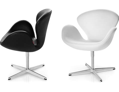 Arne Jacobsen Swan Chair   hivemodern.com