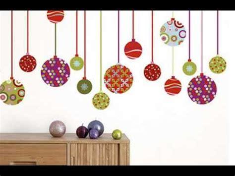 decorar pared para navidad decoracion de navidad para paredes youtube