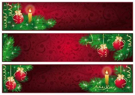 design banner natal 赤のクリスマスのバナーのベクトル ベクトル バナー 無料ベクトル 無料でダウンロード