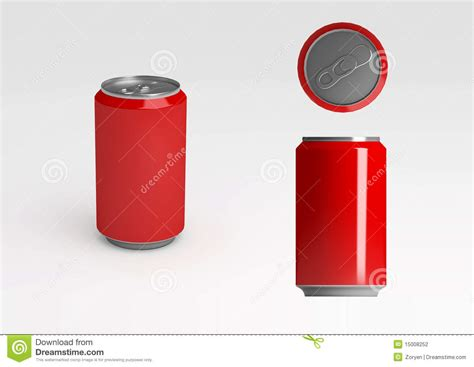 soda photography red aluminum soda can stock photography image 15008252