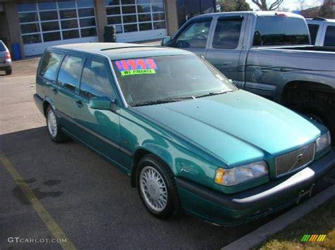 1994 volvo 850 wagon 1994 classic green volvo 850 glts wagon 23566842 photo 2