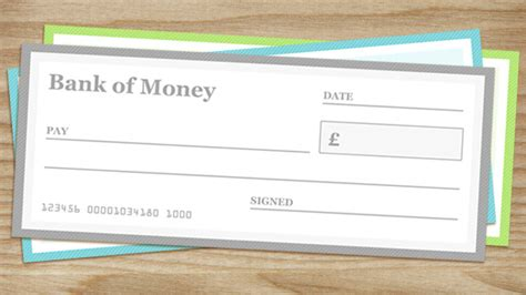 blank cheque templates