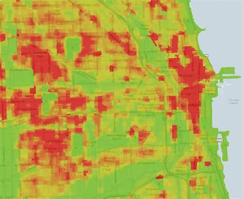 chicago map crime where crimes happen trulia s