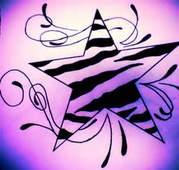 images of star tattoos cliparts co 7 best images of printable zebra pattern template zebra