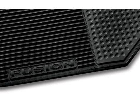 2010 2011 2012 ford fusion all weather vinyl floor mat set