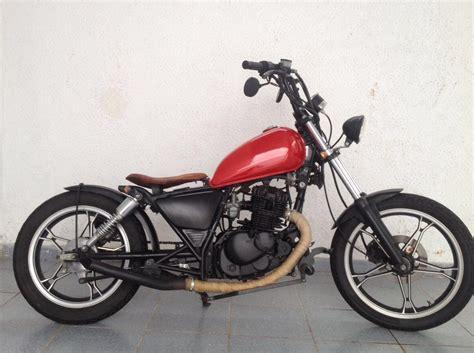 Motorrad 125 Ccm Bobber by Suzuki Intruder 125cc Bobber Motorcycle 125cc Caferacer