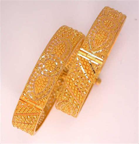 Bangle Bracelets, 22Kt Gold Bangles, 18K Gold Bangles