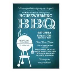 housewarming bbq invitation zazzle
