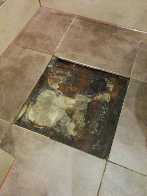 water leak under bathroom floor water leak under bathroom floor home flooring ideas