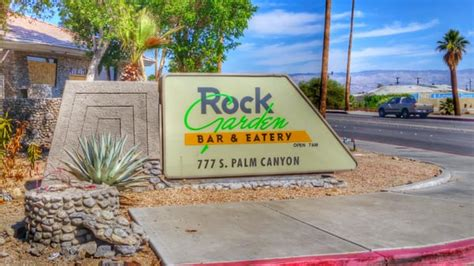 Rock Garden Cafe Palm Springs Rock Garden Bar Grill Closed American New Palm Springs Ca Yelp