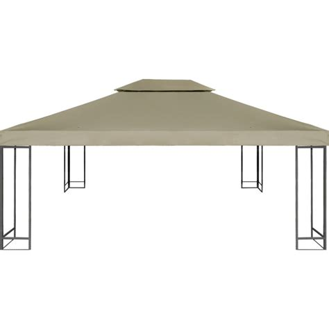 gazebo fabric waterproof fabric gazebo top cover in beige 3x4m buy
