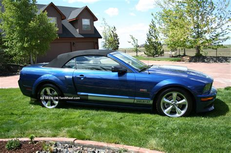 2008 ford shelby gt convertible supercharged
