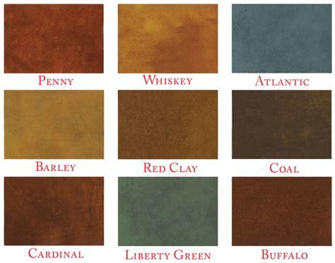 concrete acid stain color chart concrete acid stain acid stain colors surfkoat