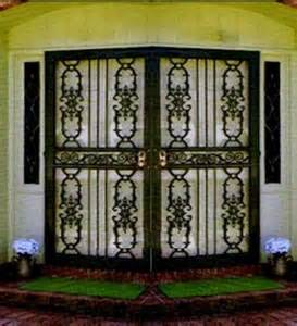 iron patio doors wrought iron security doors and door parts www
