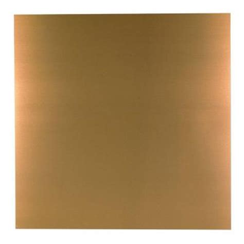 Home Depot Sheet Metal by M D Building Products 36 In X 36 In Copper Aluminum