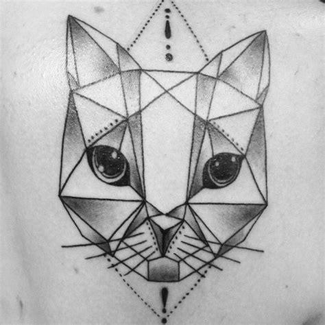2017 trend geometric tattoo celtic owl check more at resultado de imagem para cat geometric tattoo gato