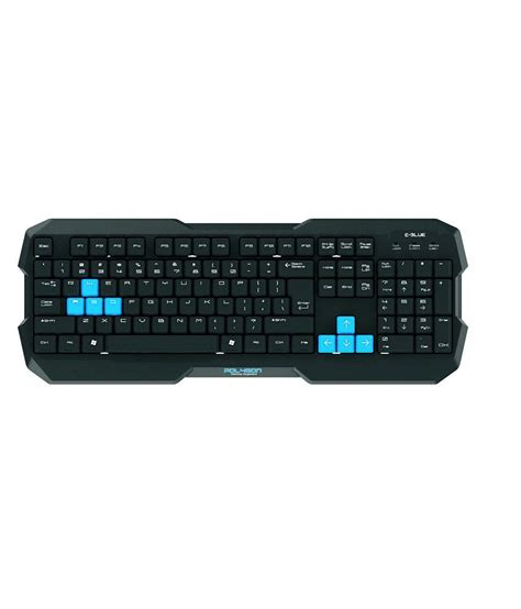 Keyboard Gaming Polygon E Blue buy e blue polygon waterproof wired gaming keyboard at best price in india snapdeal