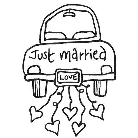 Just Married Auto Zum Ausdrucken by Just Married Car Hochzeit Pinterest