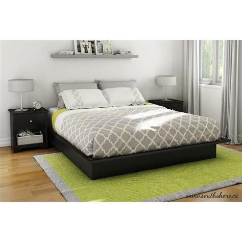 south shore bedroom set south shore libra king 3 piece bedroom set in pure black