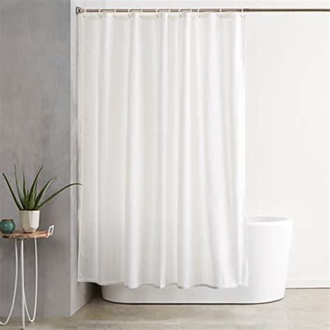 Draps Amazonbasics Housse by Amazonbasics Shower Curtain With Hooks Treated To Resist Import It All