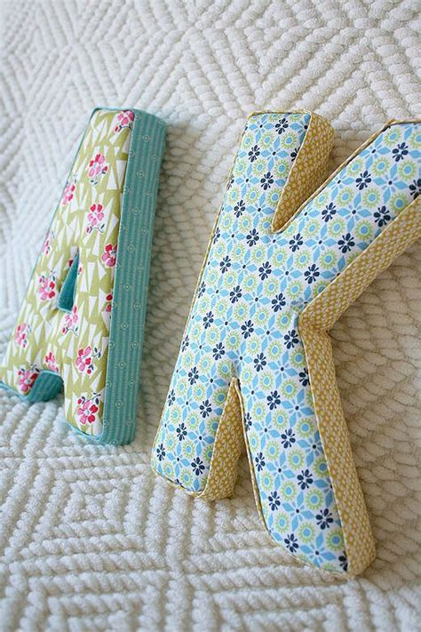 25 unique fabric covered letters ideas on pinterest diy