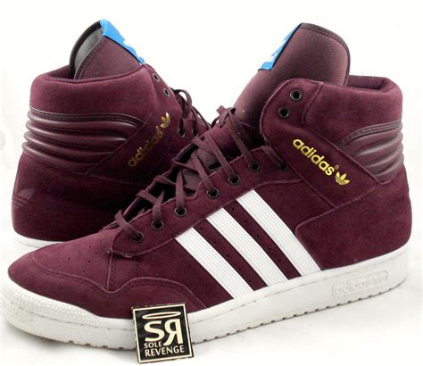 Where To Buy Adidas Gift Card - new 10 adidas originals men s pro conference hi light maroon shoes decade og ebay