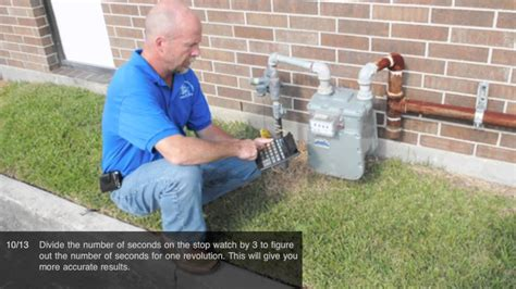 how to m masterthat clock a gas meter youtube