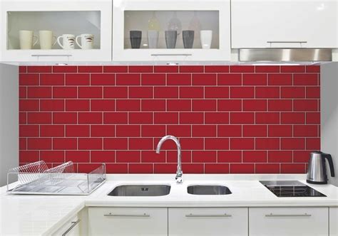 fine decor white ceramica subway tile wallpaper ceramica red subway tile effect wallpaper by fine decor
