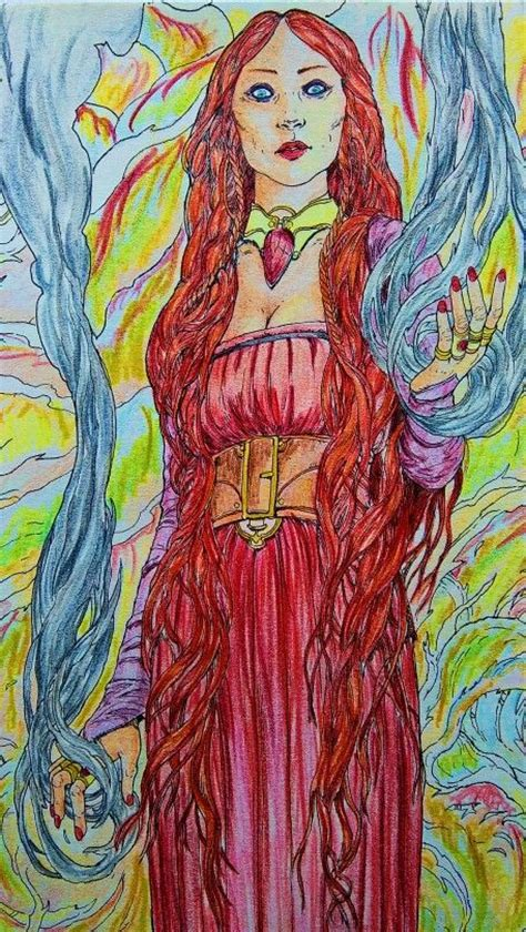 thrones coloring book finished melisandre of thrones coloring book moje prace