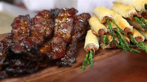 appetizers bacon candied bacon appetizer