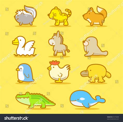 doodle animals vector free vector illustration animals doodle stock