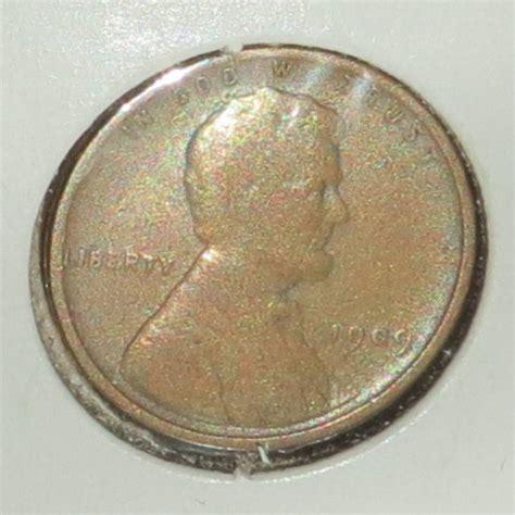 rare 1909 vdb wheat penny fine