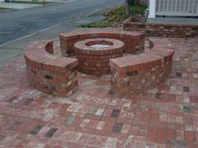 Brick Firepit Types Of Brick Patio Designs To Make Your Garden More Beautiful