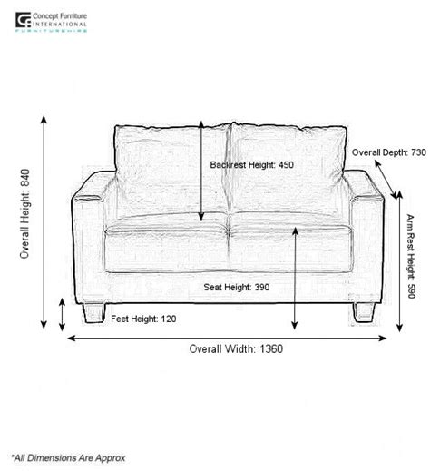 2 seater sofa measurements 2 seater sofa dimensions 28 images 2 seater sofa
