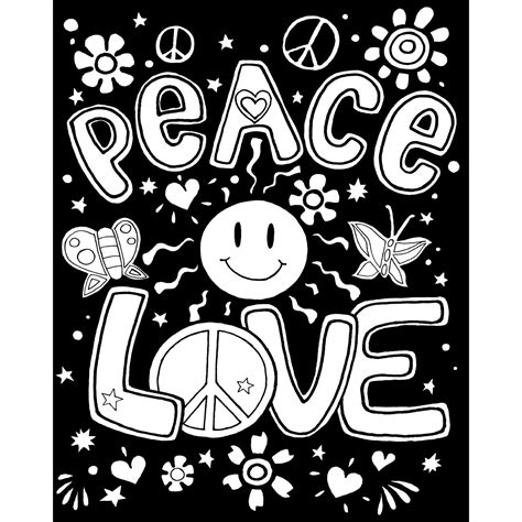 velvet coloring posters poster of peace colouring pages