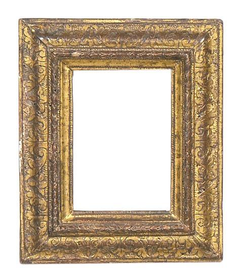 cornici dorate antiche due piccole cornici dorate xviii secolo cornici antiche